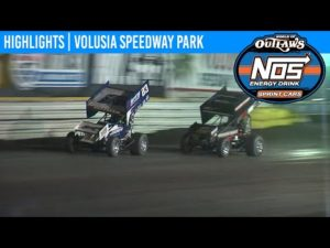 World of Outlaws NOS Energy Drink Sprint Cars Volusia Speedway Park, February 8th, 2020 | HIGHLIGHTS