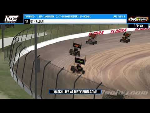 DIRTVISION REPLAYS | NOS Energy Drink iRacing Invitational April 26th, 2020