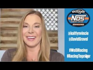 Kaitlyn Vincie Interviews David Gravel