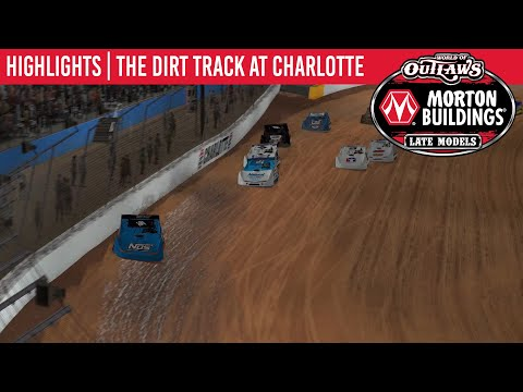 World of Outlaws Morton Buildings Late Models Dirt Track at Charlotte, March 30th, 2020 | HIGHLIGHTS