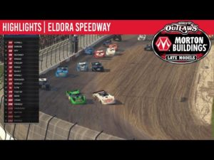 World of Outlaws Morton Buildings Late Models Eldora Speedway, April 27th, 2020 | HIGHLIGHTS