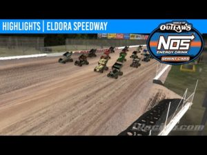 World of Outlaws NOS Energy Drink Sprint Cars Eldora Speedway, April 26th, 2020 | HIGHLIGHTS