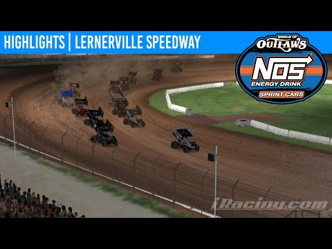 World of Outlaws NOS Energy Drink Sprint Cars Lernerville Speedway, April 14th, 2020 | HIGHLIGHTS