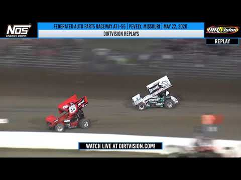DIRTVISION REPLAYS | Federated Auto Parts Raceway at I-55 May 22, 2020