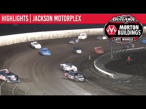 World of Outlaws Morton Buildings Late Models Jackson Motorplex, May 23rd, 2020 | HIGHLIGHTS