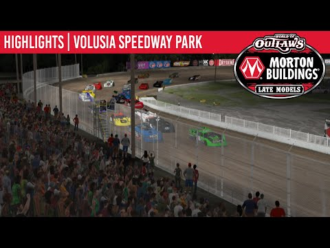 World of Outlaws Morton Buildings Late Models Volusia Speedway Park, May 4th, 2020   HIGHLIGHTS
