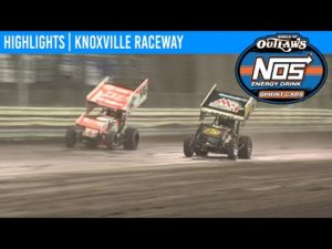World of Outlaws NOS Energy Drink Sprint Cars Knoxville Raceway, May 8, 2020   HIGHLIGHTS
