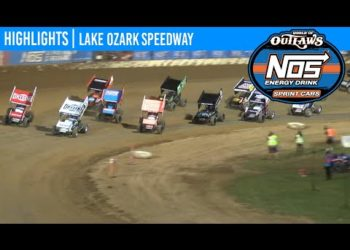 World of Outlaws NOS Energy Drink Sprint Cars Lake Ozark Speedway, May 29, 2020 | HIGHLIGHTS