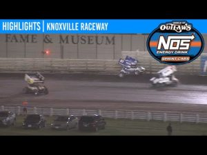 World of Outlaws NOS Energy Drink Sprint Cars Knoxville Raceway, June 13, 2020   HIGHLIGHTS