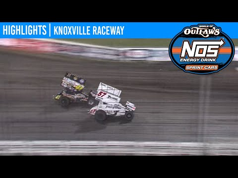 World of Outlaws NOS Energy Drink Sprint Cars Knoxville Raceway, June 12, 2020 | HIGHLIGHTS