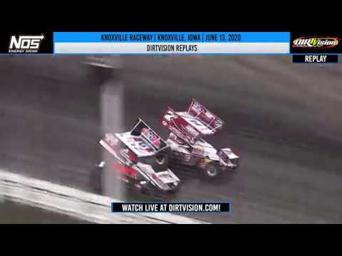 DIRTVISION REPLAYS | Knoxville Raceway June 13, 2020