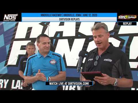 DIRTVISION REPLAYS | Knoxville Raceway June 12, 2020