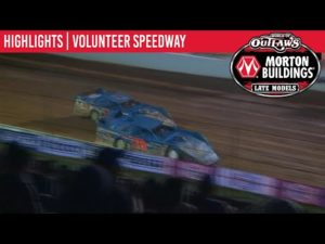 World of Outlaws Morton Buildings Late Models Volunteer Speedway, June 19th, 2020   HIGHLIGHTS