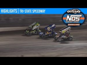 World of Outlaws NOS Energy Drink Sprint Cars Tri-State Speedway, June 19, 2020   HIGHLIGHTS