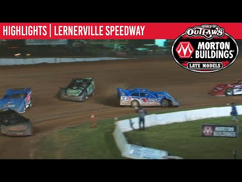 World of Outlaws Morton Buildings Late Models Lernerville Speedway, June 25th, 2020 | HIGHLIGHTS