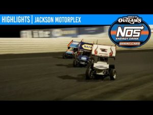 World of Outlaws NOS Energy Drink Sprint Cars Jackson Motorplex, June 27, 2020 | HIGHLIGHTS