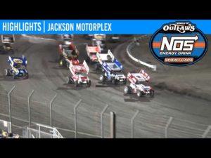 World of Outlaws NOS Energy Drink Sprint Cars Jackson Motorplex, June 26, 2020 | HIGHLIGHTS