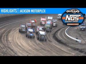 World of Outlaws NOS Energy Drink Sprint Cars Jackson Motorplex, June 25, 2020 MAKE-UP   HIGHLIGHTS