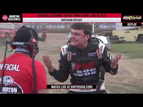 DIRTVISION REPLAYS | Lernerville Speedway June 26th, 2020