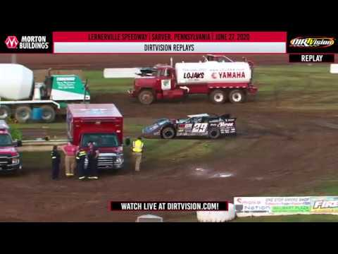 DIRTVISION REPLAYS | Lernerville Speedway June 27th, 2020