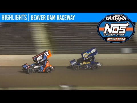World of Outlaws NOS Energy Drink Sprint Cars Beaver Dam Raceway, June 5, 2020 | HIGHLIGHTS