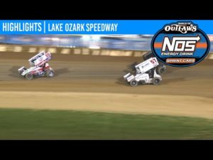 World of Outlaws NOS Energy Drink Sprint Cars Lake Ozark Speedway, May 30, 2020   HIGHLIGHTS