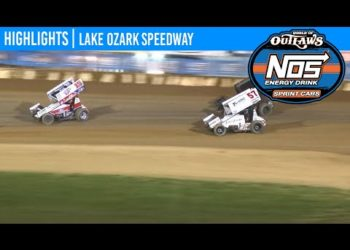 World of Outlaws NOS Energy Drink Sprint Cars Lake Ozark Speedway, May 30, 2020 | HIGHLIGHTS