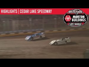 World of Outlaws Morton Buildings Late Models Cedar Lake Speedway, July 3, 2020   HIGHLIGHTS