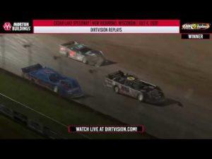 DIRTVISION REPLAYS | Cedar Lake Speedway July 4, 2020