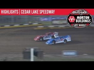 World of Outlaws Morton Buildings Late Models Cedar Lake Speedway, July 4, 2020   HIGHLIGHTS