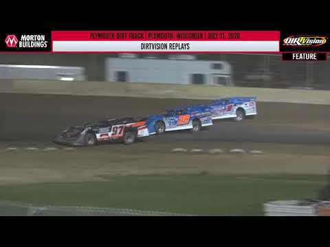 DIRTVISION REPLAYS | Plymouth Dirt Track July 11, 2020