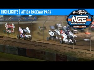 World of Outlaws NOS Energy Drink Sprint Cars Attica Raceway Park, July 14, 2020 | HIGHLIGHTS