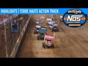 World of Outlaws NOS Energy Drink Sprint Cars Terre Haute Action Track, July 12, 2020   HIGHLIGHTS