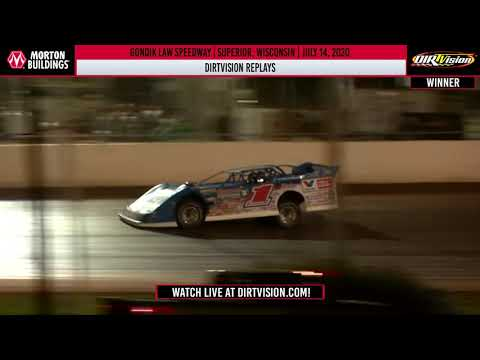 DIRTVISION REPLAYS | Gondik Law Speedway July 11, 2020