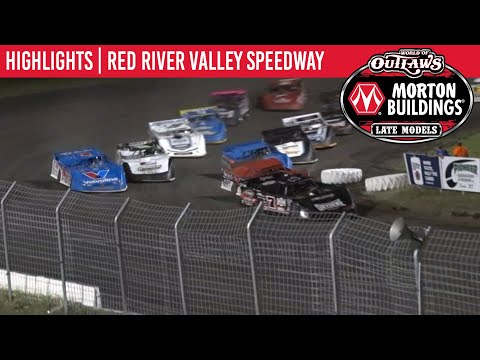 World of Outlaws Morton Buildings Late Models Red River Valley Speedway, July 18, 2020 | HIGHLIGHTS