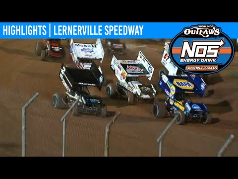 World of Outlaws NOS Energy Drink Sprint Cars Lernerville Speedway, July 21, 2020 | HIGHLIGHTS