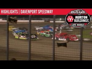 World of Outlaws Morton Buildings Late Models Davenoport Speedway, July 28, 2020   HIGHLIGHTS