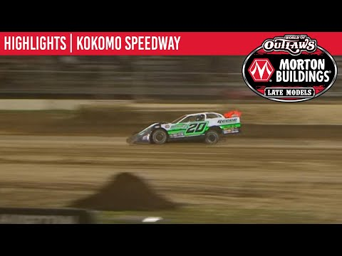 World of Outlaws Morton Buildings Late Models Kokomo Showdown 1 Speedway, July 31, 2020 | HIGHLIGHTS
