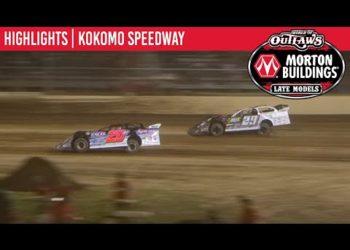 World of Outlaws Morton Buildings Late Models Showdown 2 Kokomo Speedway, July 31, 2020 | HIGHLIGHTS