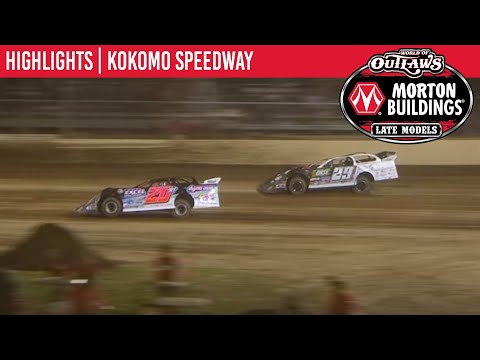 World of Outlaws Morton Buildings Late Models Showdown 2 Kokomo Speedway, July 31, 2020 | HIGHLIGHTS