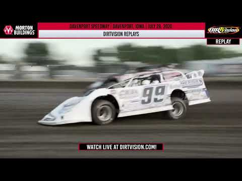 DIRTVISION REPLAYS | Davenport Speedway July 28, 2020