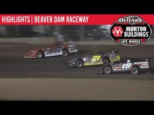 World of Outlaws Morton Buildings Late Models Beaver Dam Raceway August 4th, 2020   HIGHLIGHTS