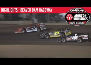 World of Outlaws Morton Buildings Late Models Beaver Dam Raceway August 4th, 2020 | HIGHLIGHTS