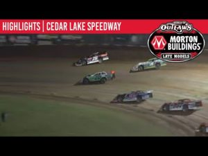 World of Outlaws Morton Buildings Late Models Cedar Lake Speedway August 6th, 2020   HIGHLIGHTS