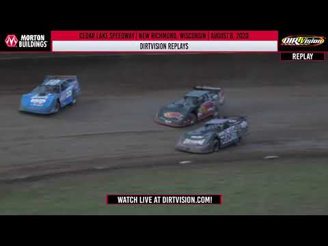 DIRTVISION REPLAYS | Cedar Lake Speedway August 8th, 2020