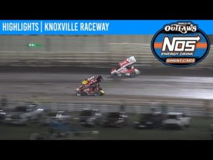 World of Outlaws NOS Energy Drink Sprint Cars Knoxville Raceway August 15, 2020 | HIGHLIGHTS