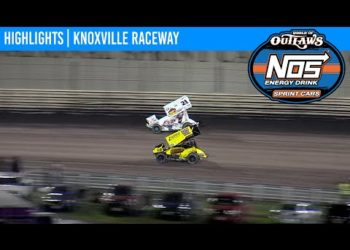 World of Outlaws NOS Energy Drink Sprint Cars Knoxville Raceway August 13, 2020 | HIGHLIGHTS