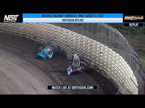 DIRTVISION REPLAYS | Knoxville Raceway August 13, 2020