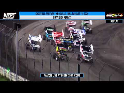 DIRTVISION REPLAYS | Knoxville Raceway August 14, 2020
