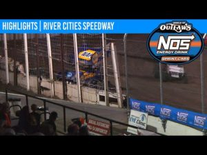 World of Outlaws NOS Energy Drink Sprint Cars River Cities Speedway August 21, 2020 | HIGHLIGHTS